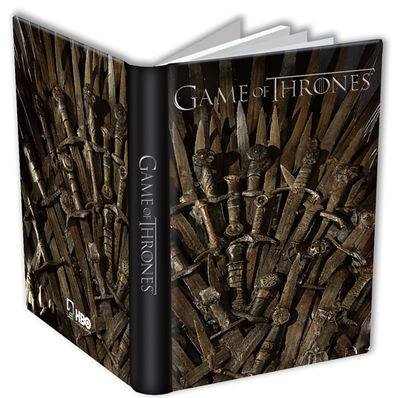Game of Thrones Journal: Throne JAN120126
