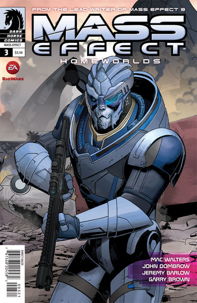 Mass Effect: Homeworlds #3 (Mike Hawthorne variant cover)