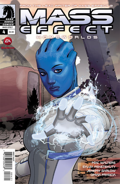 Mass Effect: Homeworlds #4 (Mike Hawthorne variant cover)