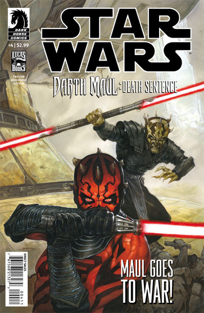 Star Wars: Darth Maul - Death Sentence #4 (of 4)