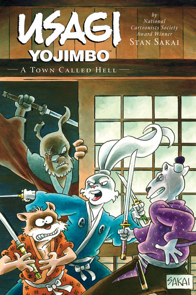 Usagi Yojimbo Volume 27: A Town Called Hell TPB FEB130039