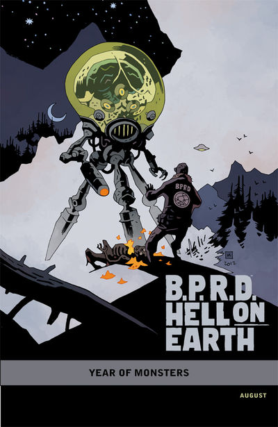 B.P.R.D. Hell on Earth: The Return of the Master #1 (Mike Mignola variant cover)