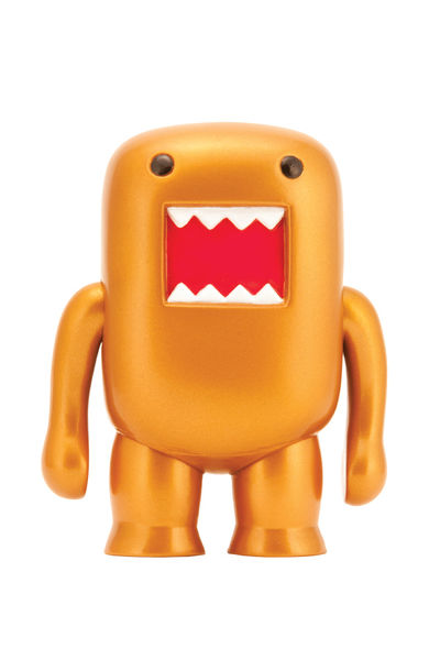 "Domo 4"" Metallic Vinyl Figure: Bronze"