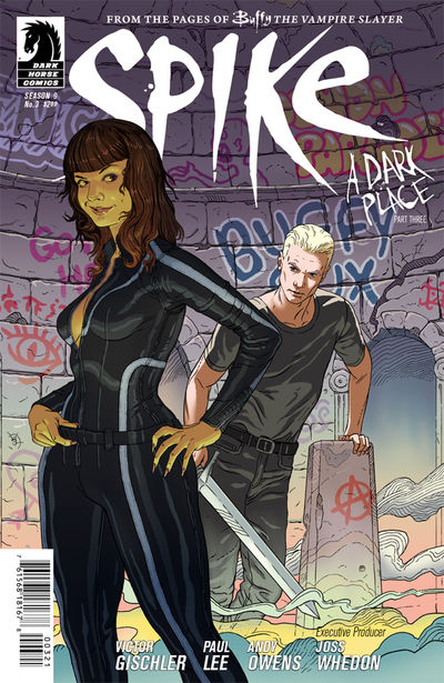 Buffy the Vampire Slayer: Spike #3 (Steve Morris variant cover)