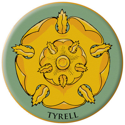 Game of Thrones Embroidered Patch: Tyrell OCT120081