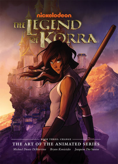 Legend of Korra: The Art of the Animated Series HC Book Three - Change SEP140051
