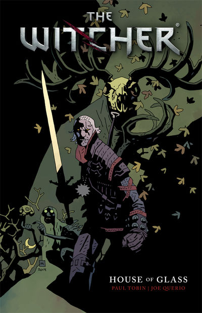 Witcher Volume 1 TPB House of Glass - nick & dent