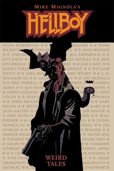 Hellboy: Weird Tales HC at TFAW