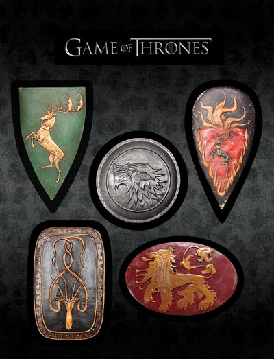 Game of Thrones Magnet Set: Shields AUG130123
