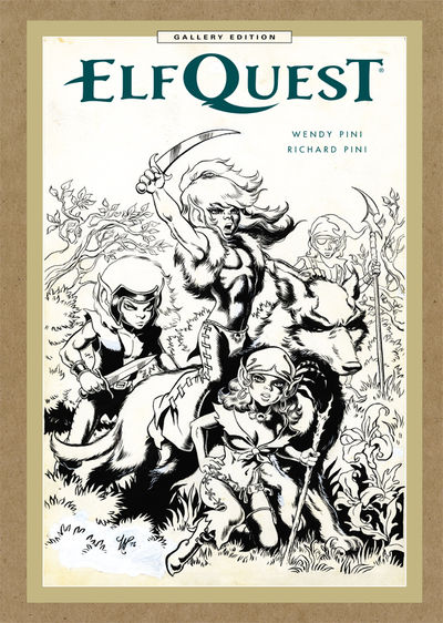 ElfQuest: The Original Quest Gallery Edition HC