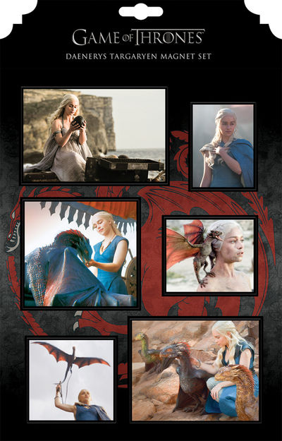 Game of Thrones Magnet Set: Daenerys Targaryen MAY140113
