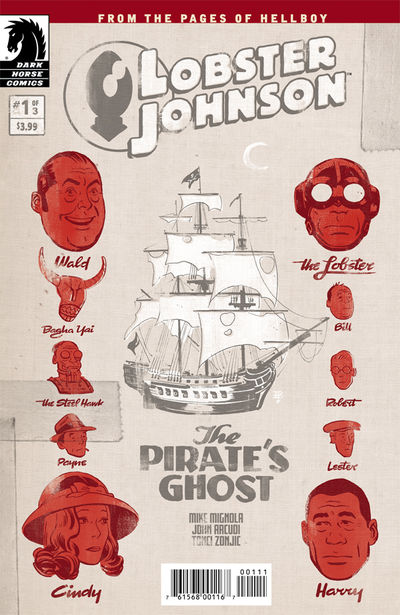 Lobster Johnson: The Pirate's Ghost #1