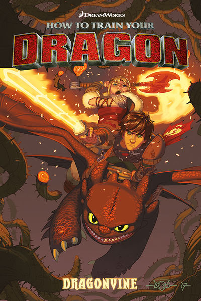 DreamWorks How to Train Your Dragon: Dragonvine TPB AUG170016