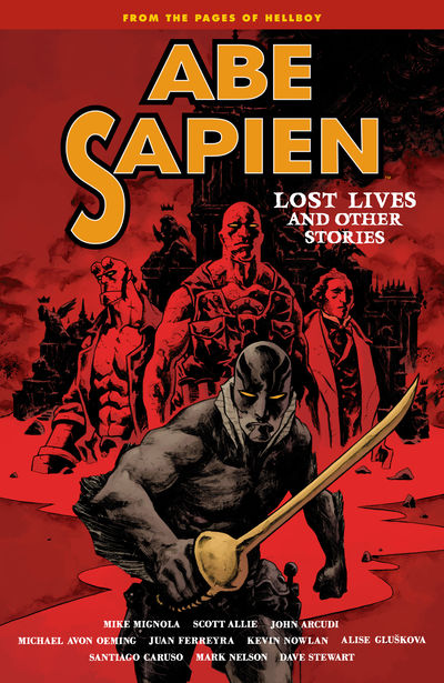 Abe Sapien Volume 9: Lost Lives and Other Stories TPB FEB170028