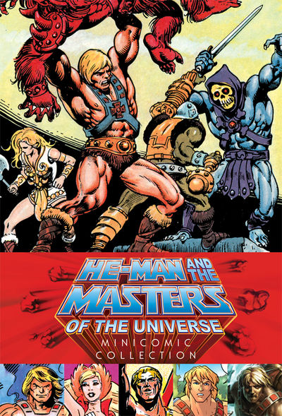 He-Man and the Masters of the Universe Minicomic Collection HC JUN150035