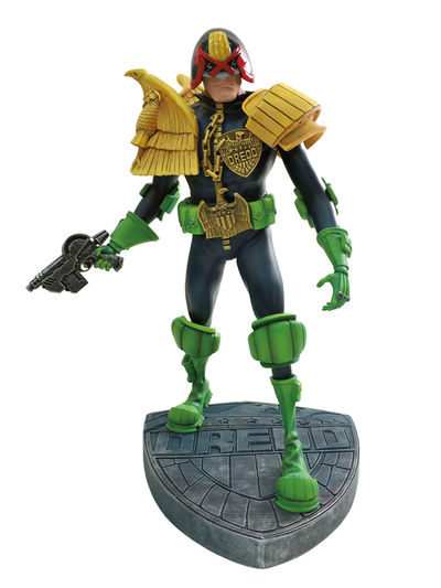 Judge Dredd Artist Edition Vinyl Statue: Mike McMahon Version JUL150017