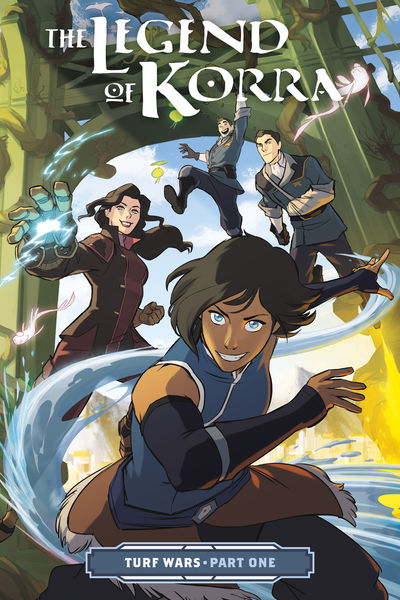 The Legend of Korra: Turf Wars Part One TPB