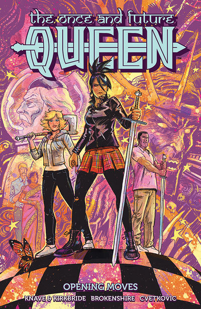 Once and Future Queen TPB