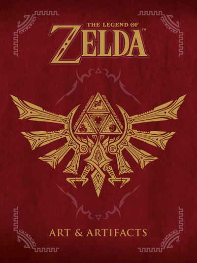 The Legend of Zelda: Art and Artifacts cover