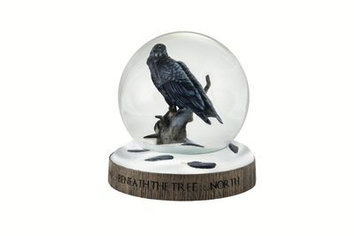 Game of Thrones: The Three-eyed Raven Snow Globe