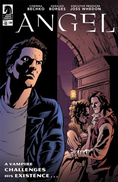 Angel Season Eleven #10 (Geraldo Borges Variant Cover)