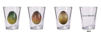 Game of Thrones Shot Glass Set: Dragon Eggs