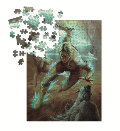 Witcher 3 - Wild Hunt Puzzle: Ciri and the Wolves