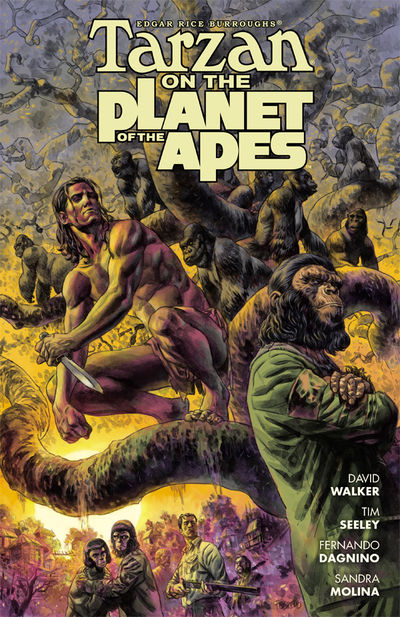 Tarzan on the Planet of the Apes TPB JAN170166