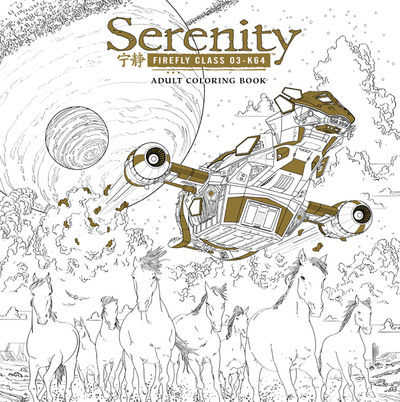 Serenity Adult Coloring Book TPB