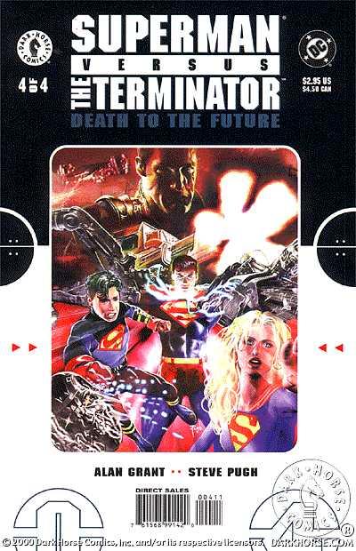 Superman vs. Terminator - komiks 1-4 [.CBR][PL] *dla EXSite.pl*