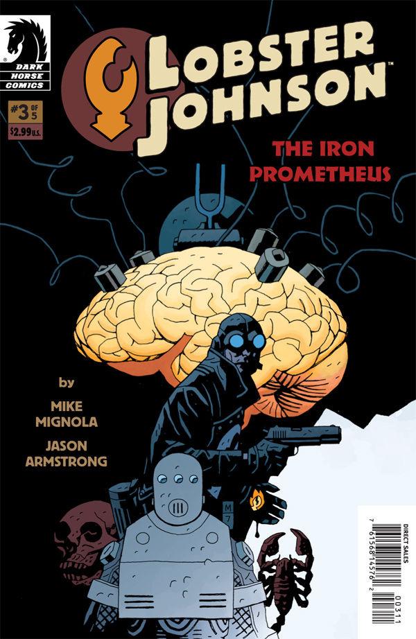 Lobster Johnson: The Iron Prometheus #3 :: Profile :: Dark ...