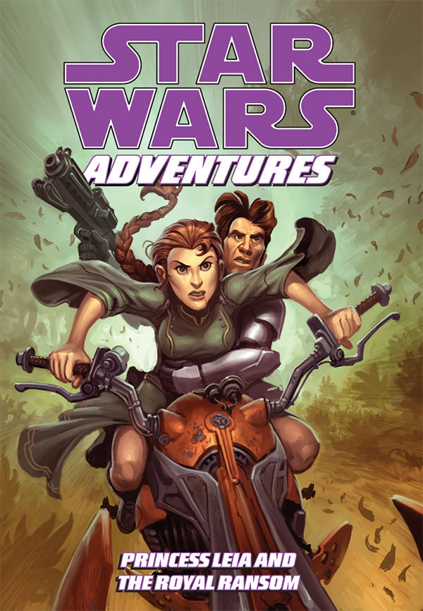 Star Wars Adventures   Princess Leia & the Royal Ransom (Dark Horse 2009)   TPB preview 0