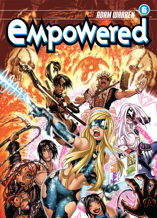 Empowered Volume 6 Profile Dark Horse Comics