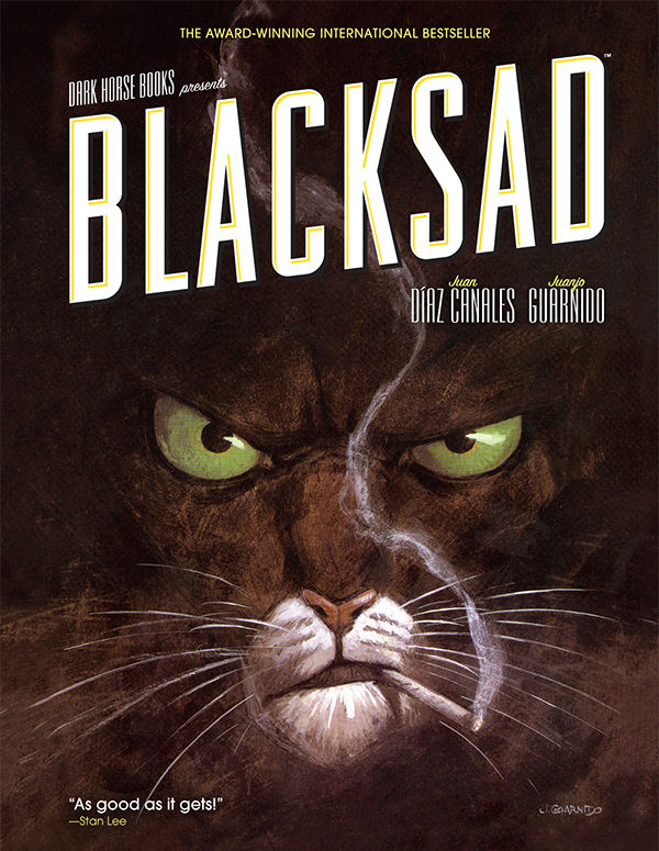 Blacksad, courtesy Dark Horse