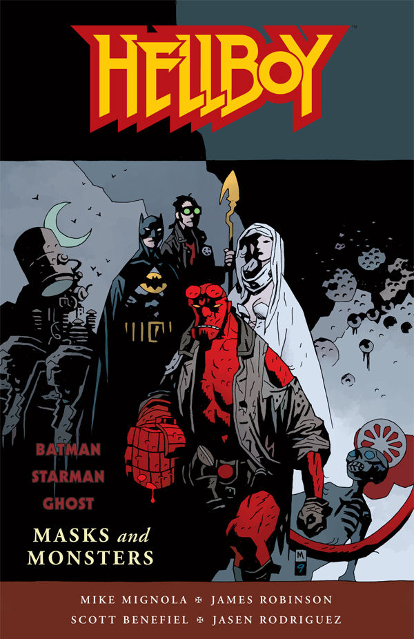 Masks Horse :: tpb :: Dark Hellboy: Profile and  Monsters