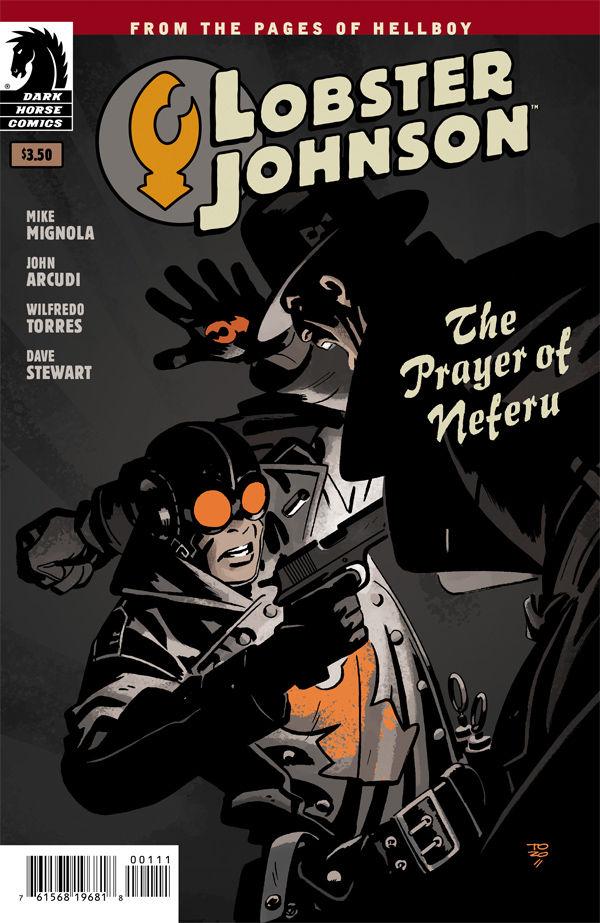 Lobster Johnson: The Prayer of Neferu (one-shot) :: Profile :: Dark Horse Comics