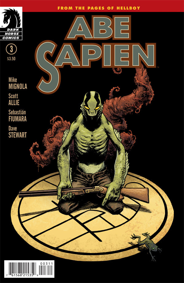 ABE SAPIEN: DARK AND TERRIBLE #3