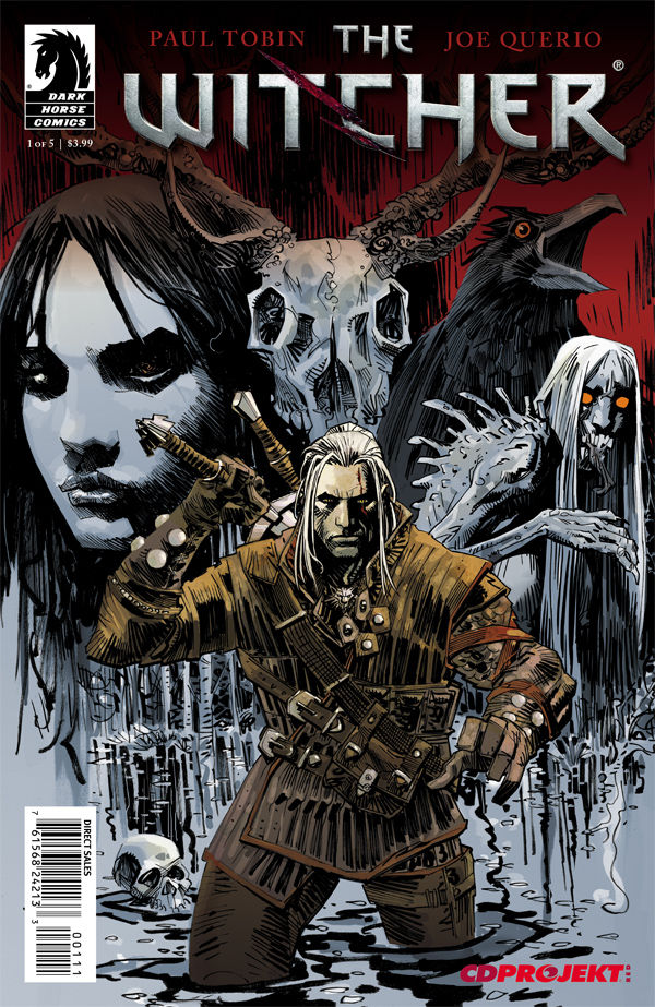 Witcher Book Cover Art : The witcher profile dark horse comics