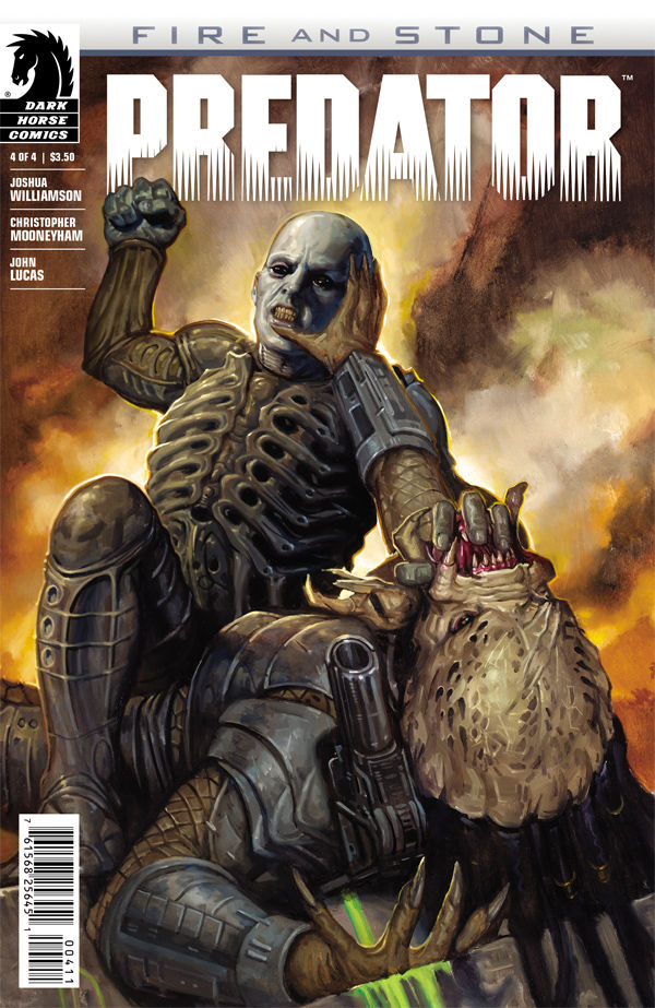 Predator Fire And Stone 4 Profile Dark Horse Comics