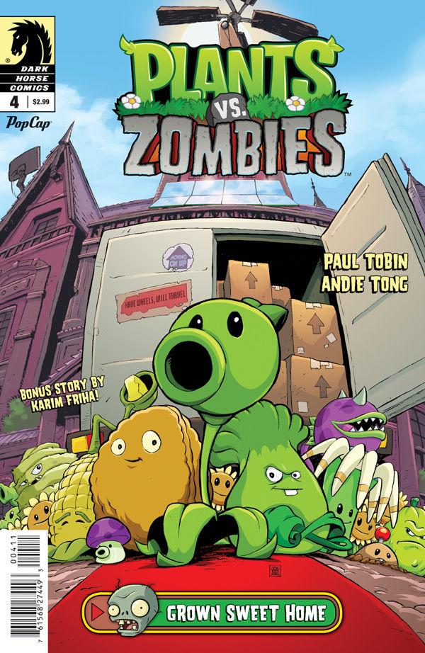 Plants vs. Zombies #4: Grown Sweet Home :: Profile :: Dark