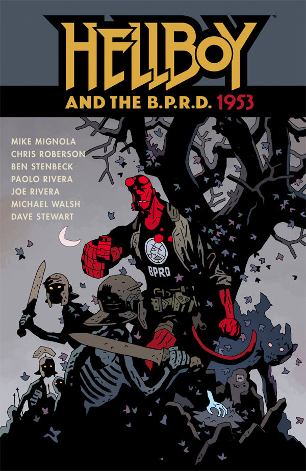 Hellboy and the B.P.R....
