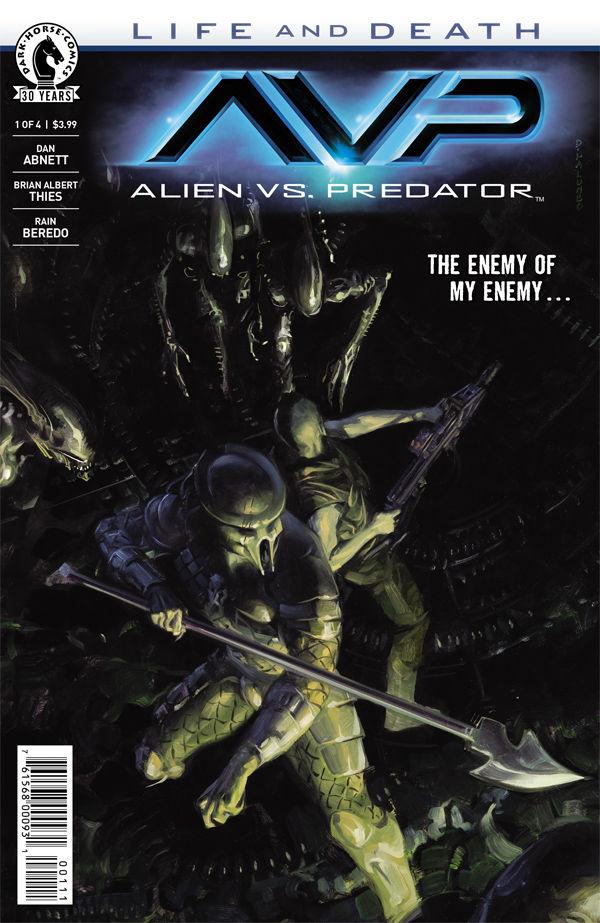 Alien vs Predator comics at TFAW.com