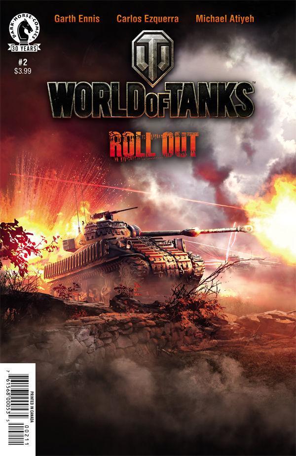 World of Tanks comics at TFAW.com