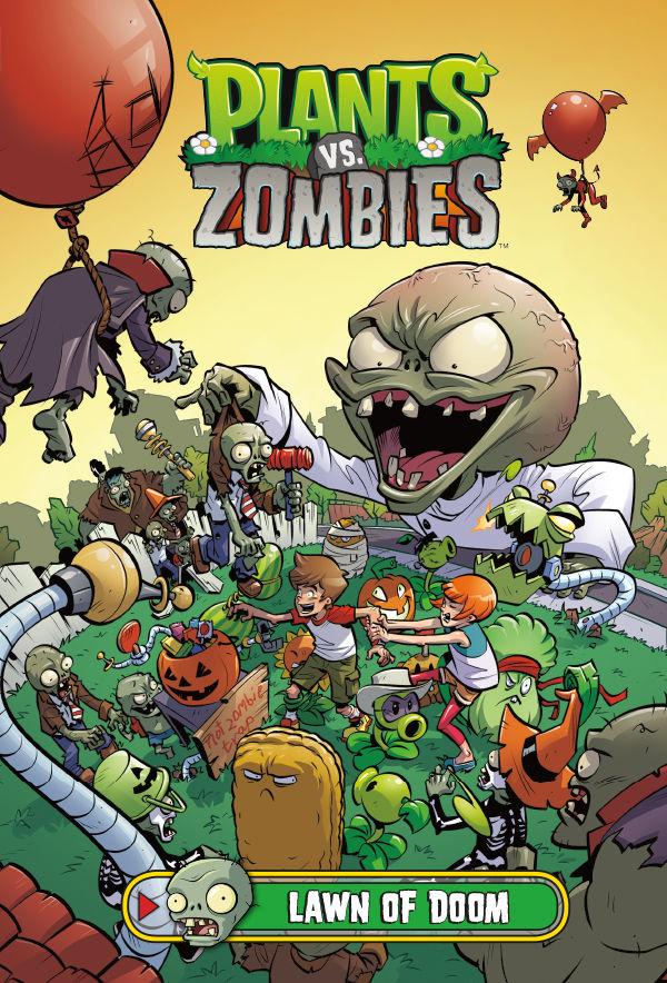 Plants Vs Zombies Volume 8 Lawn Of Doom Hc Profile
