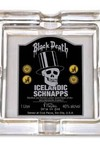 Sin City Glass Ashtray: Black Death Icelandic Schnapps - nick & dent