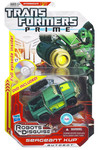 Transformers Prime Ironhide(Sergent Kup) Deluxe Action Figure(with Bonus DVD)