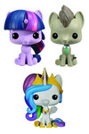 Pocket Pop My Little Pony 3-Pack Tin - Dr Hooves, Princess Celestia & Princess Twilight Sparkle