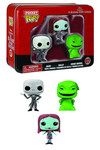 Pocket Pop Nightmare Before Christmas 3-Pack Tin - Jack, Sally, and Oogie Boogie