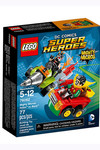Lego DC Superheroes Mighty Micros - Robin vs. Bane (76062)