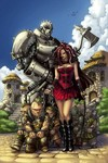 Grimm Fairy Tales Warlord Of Oz #2 (of 6) (Cover B - Ortiz)